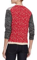 Marc By Marc Jacobs Tweedback Printed Cardigan - Lyst