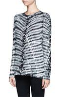 Proenza Schouler Tie Dye Print Tshirt - Lyst