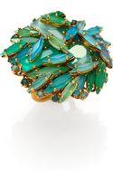 Aerin Erickson Beamon Jeweled Cluster Ring - Lyst