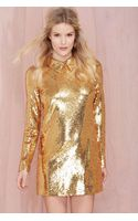 Nasty Gal Impulse Sequin Dress - Lyst