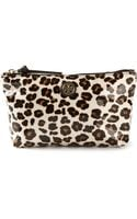 Tory Burch Leopard Print Make Up Bag - Lyst