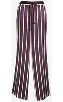 Joseph College Striped Satin Pants - Lyst
