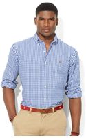 Polo Ralph Lauren Slim Fit Checked Oxford Shirt - Lyst