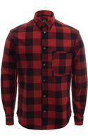 McQ by Alexander McQueen Lumberjack Shirt - Lyst