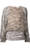 Chloé Waves Print Blouse - Lyst