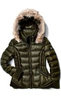 Dawn Levy Olivia Puffer Coat with Fur-trimmed Hood - Lyst