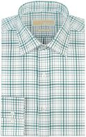 MICHAEL Michael Kors Regular Fit Plaid Non Iron Dress Shirt - Lyst
