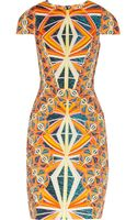 Peter Pilotto Marissa Printed Woven Dress - Lyst