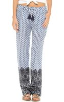Tory Burch Baja Pants - Lyst