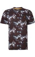 Farah Gavin Photo Rave Print T Shirt - Lyst