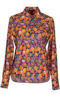 Marc Jacobs Long Sleeve Shirt - Lyst