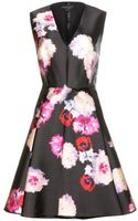 Giambattista Valli Printed Silk Twill Dress - Lyst