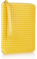 Christian Louboutin Cris Spiked Leather Ipad Case - Lyst