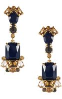 Kate Spade Stone Drop Earrings - Lyst