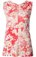 Stella McCartney Floral Print Tank Top - Lyst