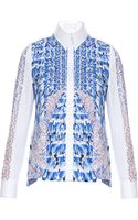 Peter Pilotto Ella Cotton Printed Shirt - Lyst