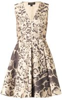 Giambattista Valli Leopardjacquard Dress - Lyst