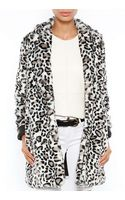 Pam & Gela Faux Fur Coat - Lyst