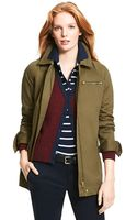 Tommy Hilfiger Modern Short Trench - Lyst