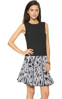 Diane Von Furstenberg Betty Top Black - Lyst