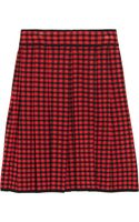 M Missoni Plaid Jacquardknit Skirt - Lyst