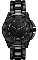 Karl Lagerfeld Womens Black Ionplated Stainless Steel Bracelet Watch 36mm - Lyst
