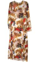Collection Designed By Giada Forte Printed Long Dress - Lyst