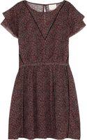 Band Of Outsiders Floralprint Cotton Mini Dress - Lyst