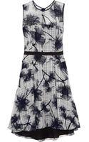 Jason Wu Floralprint Silkjacquard Dress - Lyst