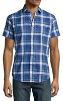 Robert Graham Sandstone Tailored Check Sport Shirt - Lyst