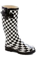 East Lion Corp./qupid Chess For Success Rain Boot - Lyst