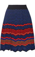 M Missoni Crochet-knit Cotton-blend Skirt - Lyst