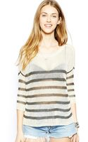 Ralph Lauren Striped Jumper - Lyst