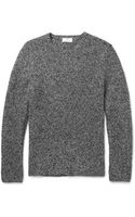 Hentsch Man Ribbed Woolblend Sweater - Lyst