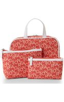 Kenneth Cole Reaction Orange 3-piece Cosmetic Bag Set - Lyst