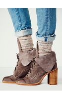 Free People Andover Lace Up Boot - Lyst