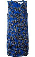 Diane Von Furstenberg Stars Embellished and Printed Dress - Lyst