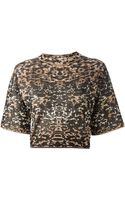 M Missoni Printed Top - Lyst
