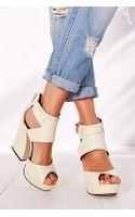 Messeca Vivian Platform Heel - Lyst