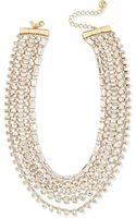 Kate Spade Multi-strand Crystal Statement Necklace - Lyst