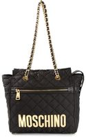 Moschino Large Quilted Tote - Lyst