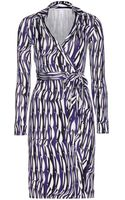 Diane Von Furstenberg New Jeanne Two Silkjersey Wrap Dress - Lyst