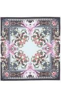 Givenchy Paradise Flower Scarf Light Bluemulti - Lyst
