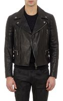 Belstaff Leather Moto Jacket - Lyst