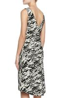 Rag & Bone Gracie Printed Tweed Sleeveless Dress - Lyst