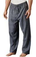 Polo Ralph Lauren Windowpane Flannel Pajama Pants - Lyst