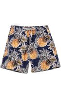 Vilebrequin Moorea Mid-length Printed Swim Shorts - Lyst