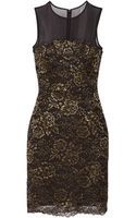 Diane Von Furstenberg Nisha Lace Mini Dress - Lyst