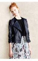 Sanctuary Midnight Leather Moto Jacket - Lyst