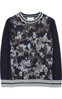 3.1 Phillip Lim Camouflageprint Woolblend Sweater - Lyst